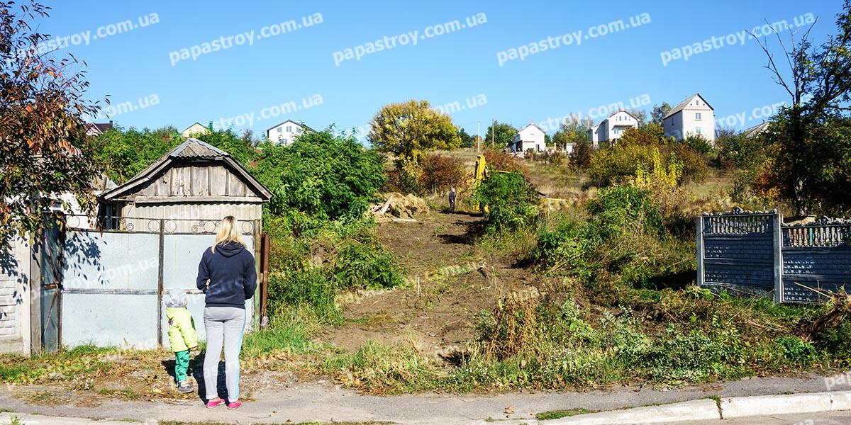 Подготовка участка под строительство загородного дома