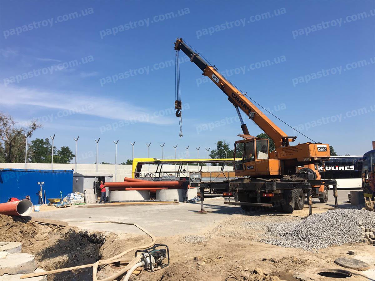 Реконструкция и строительство локальных очистительных сооружений