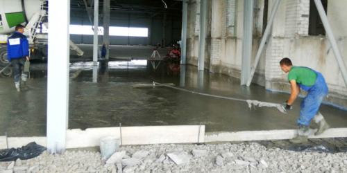 Промышленные бетонные полы Киев и Киевская область