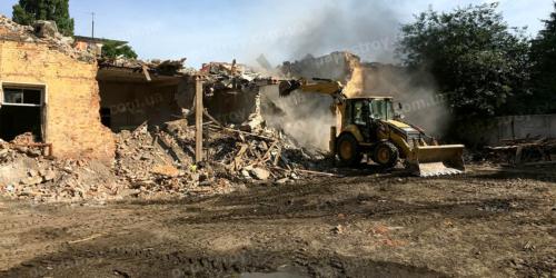 демонтаж построек Киев и Киевская