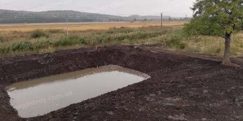 Создание и чистка водоемов